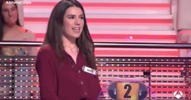 Nerea, concursante de Ahora Caigo: ''Si me llevo los 100.000 euros me pondría tetas a mi y a mis amigas''