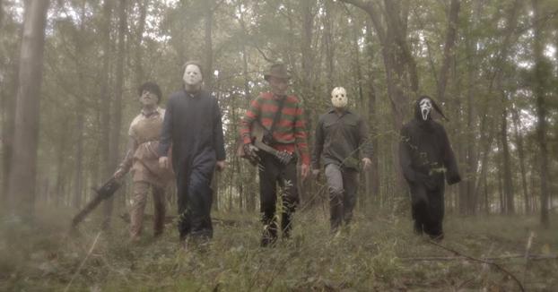 Los clásicos asesinos interpretando un tema a lo Backstreet Boys