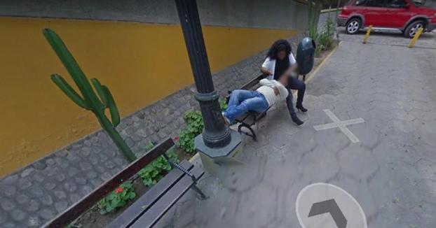 Encuentra a su esposa con otro hombre buscando en Google Maps