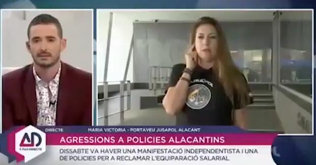 Un presentador de la TV valenciana se niega a preguntar en castellano a una entrevistada