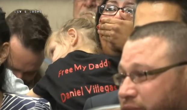 Momento en el que declaran a Daniel Villegas NO culpable después de 19 años en prisión