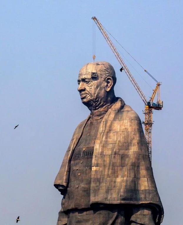 La Estatua de la Unidad, la estatua más grande del mundo
