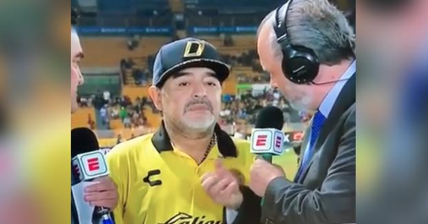 La respuesta de Maradona cuando le preguntan qué piensa sobre la Liga MX