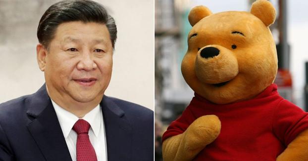 La Policía pide al Winnie the Pooh de Puerta del Sol que no se disfrace para no ofender a Xi Jinping durante su visita