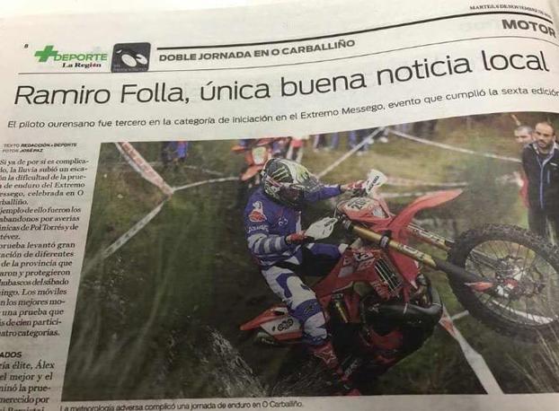 Hay periodistas que son unos cachondos: ''Ramiro Folla, única buena noticia local''