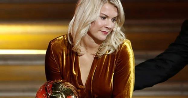 Ada Hegerberg gana el primer Balón de Oro femenino y le preguntan si sabe hacer 'twerking'