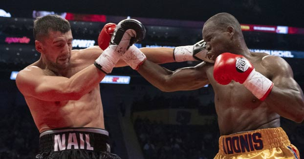 El boxeador ucraniano Oleksandr Gvozdyk destrona al campeón de los pesos semipesados ganándole por KO