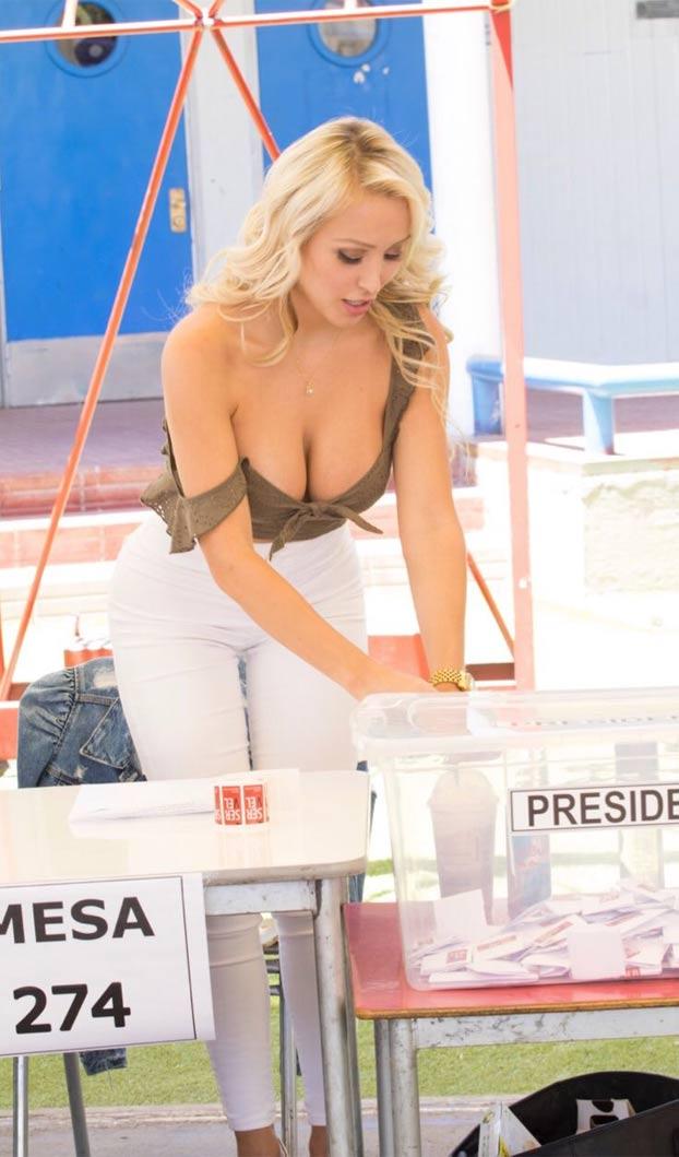 Daniella Chavez, la reina de las elecciones