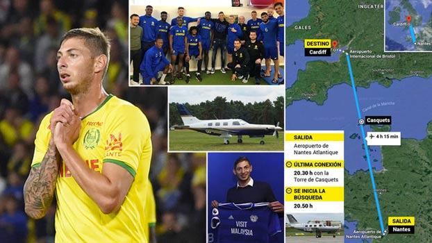 Desaparece el avión en el que viajaba Emiliano Sala rumbo a Cardiff. Este es el mensaje de audio que envió en pleno vuelo