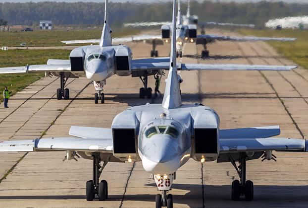 bombardero supersónico Tu-22M3 'Backfire'