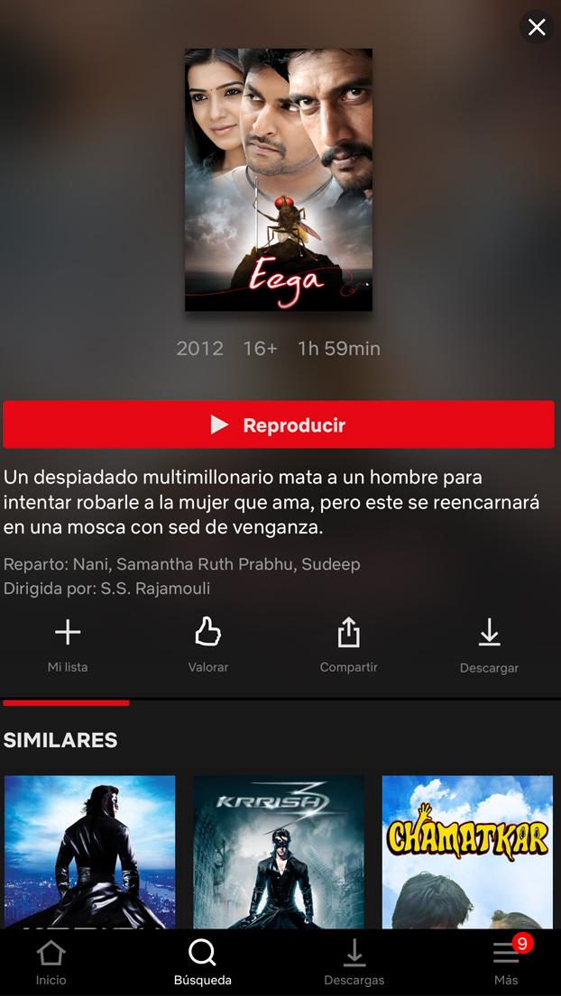 ''Eega'', una perla del cine: Millonario mata a un hombre para quedarse con su novia y este se reencarna en mosca en busca de venganza
