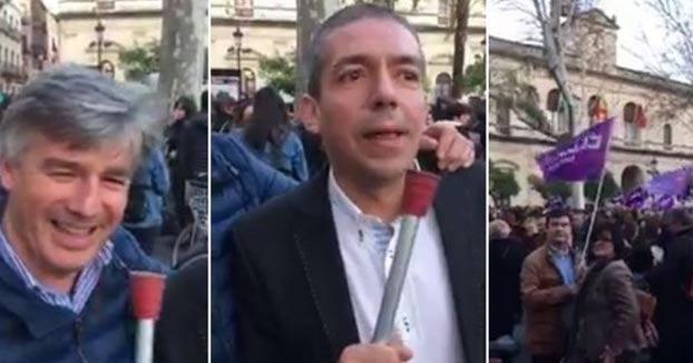 A juicio los hombres que se grabaron llamando ''golfas'' y ''guarras'' a las manifestantes durante el 8M
