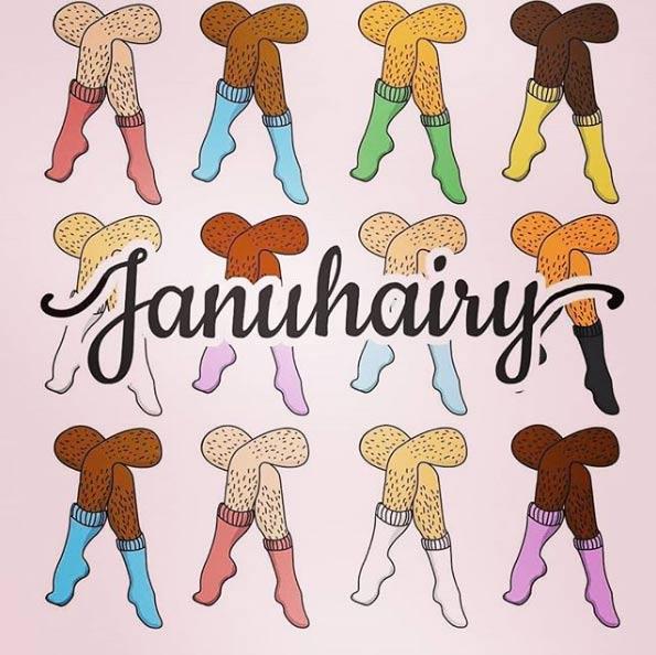 'Januhairy', una campaña que anima a las mujeres a no depilarse durante el mes de enero