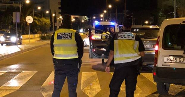 Detenido un conductor en Ibiza que dio positivo en todas las drogas detectables