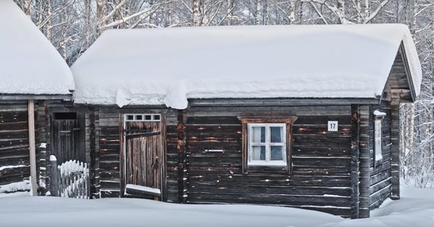 Así está en la actualidad una cabaña tradicional finlandesa construida en 1988