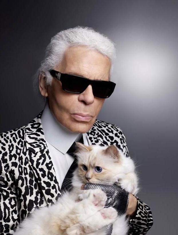 Choupette, la gata que heredará parte de la millonaria fortuna de Karl Lagerfeld
