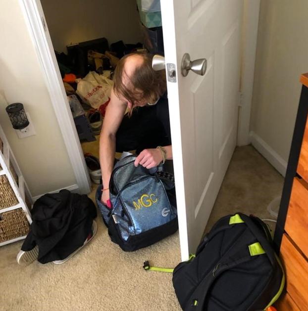 Pensaba que había un fantasma en su casa pero un hombre vivía en su armario