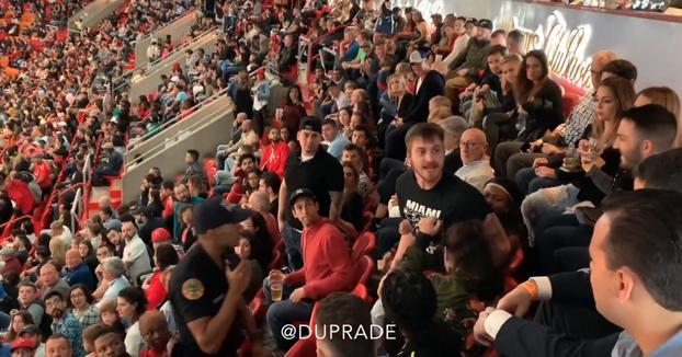 Un español la lía en un partido de la NBA entre los Miami Heat y los Chicago Bulls