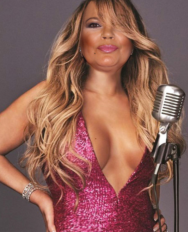 Mariah Carey cara de Terelu