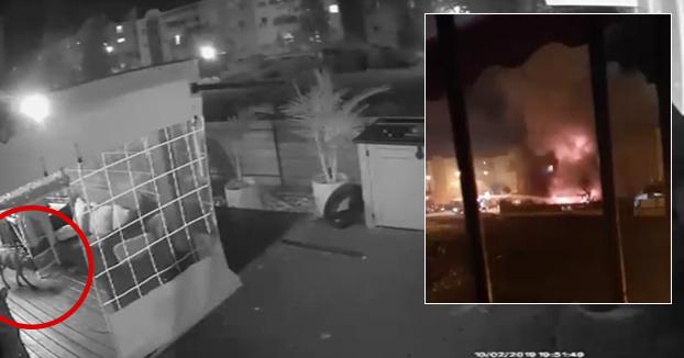 Un perro jugando con un mechero provoca un enorme incendio en un edificio