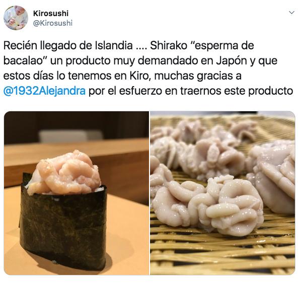 Comer semen ya es posible en España: el restaurante que triunfa con este plato