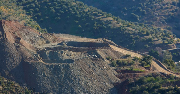 Totalán quiere convertir en recinto museístico la montaña en la que quedó atrapado Julen