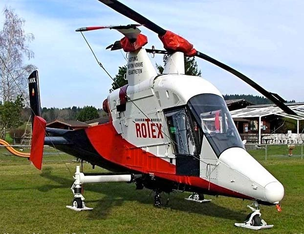 Kaman K-MAX, un helicóptero con rotores entrelazados