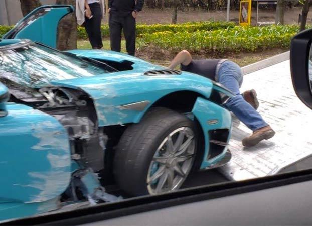 Destroza el único Koenigsegg CCXR Special One que hay en el mundo. Tiene más de mil caballos y cuesta 1,5 millones de dólares