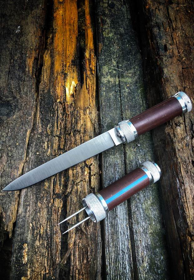 Atroposknife Fortel, un cuchillo ruso que esconde una doble sorpresa en su interior