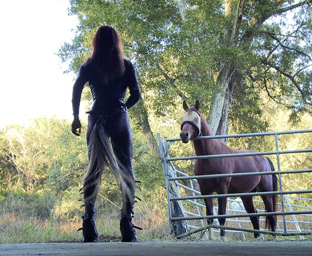 Pasó de ser hombre a mujer y ahora su objetivo es ser un caballo
