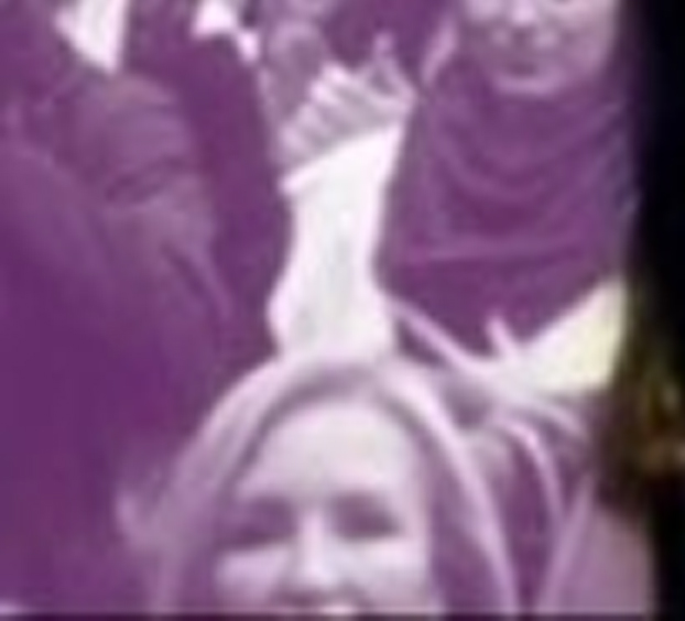 ¿Estoy viendo a Carmen Lomana en el cartel que anuncia la vuelta de Pablo Iglesias?