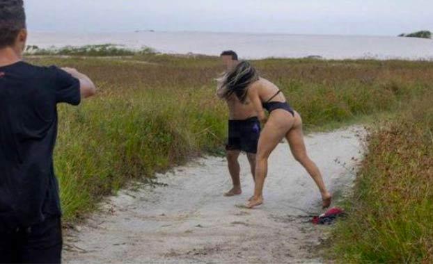 Una luchadora de MMA le da una paliza a un hombre que se masturbaba mirándola