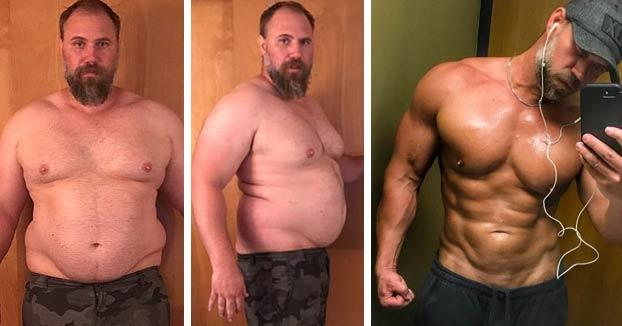 Pierde más de cuarenta kilos en cinco meses al darse cuenta de que sus hijos se avergonzaban de él por su peso