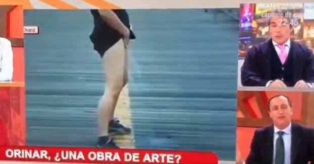 España subvenciona a Itziar Okariz con 400.000€ para representarnos en el Pabellón de España en Venecia meando de forma artística