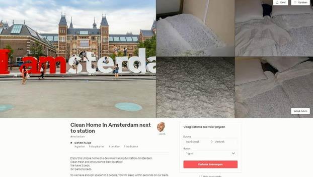 """Alquila por Airbnb una """"casa limpia con baño privado"""" por 134 euros y resulta ser un contenedor de transporte en medio de una calle"""