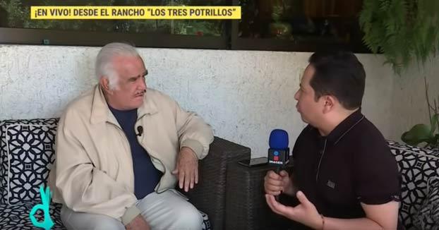 El cantante mexicano Vicente Fernández rechaza un trasplante por temor a que el donante fuera gay