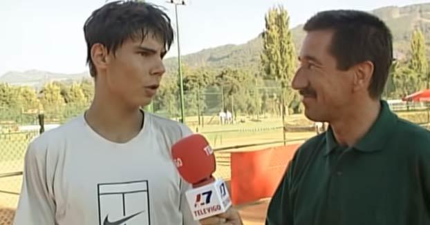 Entrevista a Rafa Nadal cuando tenía 16 años y en la que explica por qué se pasó del fútbol al tenis