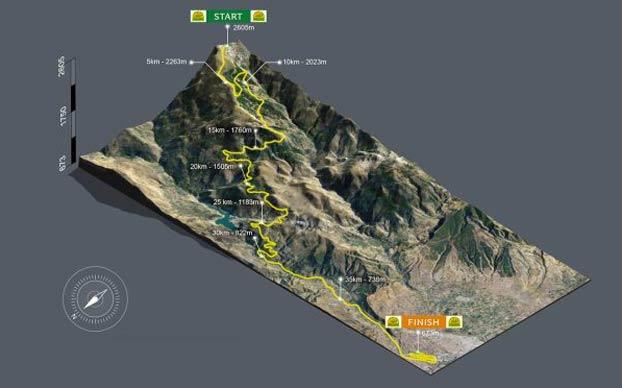 Granada organiza una maratón cuesta abajo para batir el récord del mundo