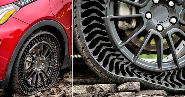 Michelin venderá neumáticos sin aire y sin riesgo de pinchazos a partir de 2024