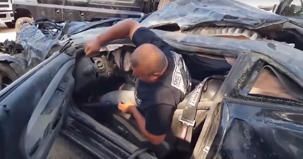 Esto es lo que ocurre si te revienta un neumático circulando a 310 km/h
