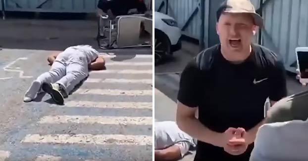 Un turista británico deja KO de un puñetazo a un guardaespaldas del rapero Future en el aeropuerto de Ibiza y luego se ríe y se burla de él