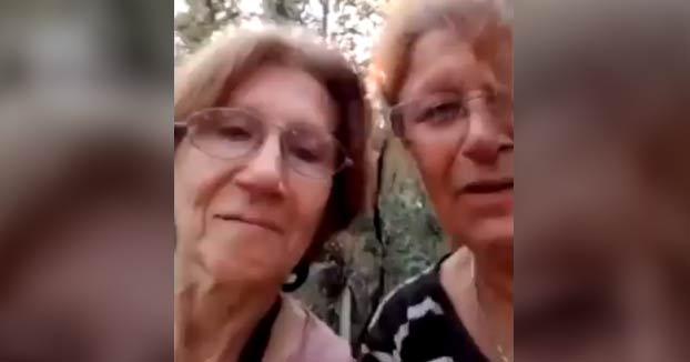 Dos señoras de 62 y 67 años se pierden en la selva de Tucumán y graban este vídeo para pedir ayuda