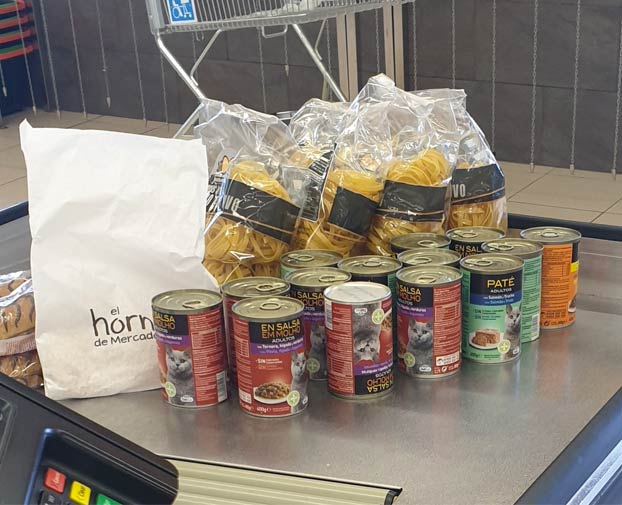 ''Esta es la compra que estaba haciendo un chino delante de mí en el supermercado''
