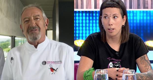 Karlos Arguiñano responde a Fanny, una de las veganas transfeministas
