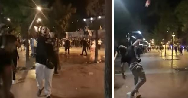 Batalla campal en la fiesta mayor de Sabadell