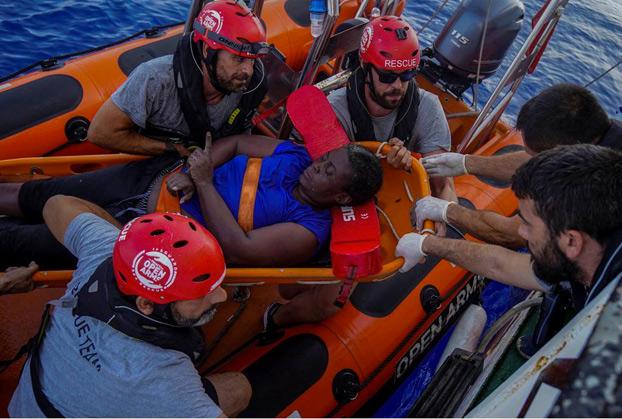Marc Gasol, campeón de la NBA y campeón del mundo, colaboró con Open Arms en el rescate de seres humanos
