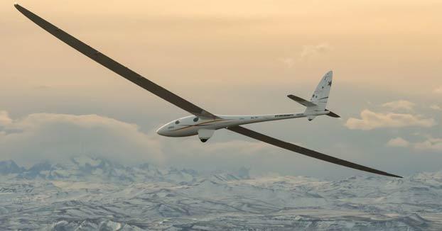 El Airbus Perlan II sobrevolando la Cordillera de los Andes a 20 km de altura