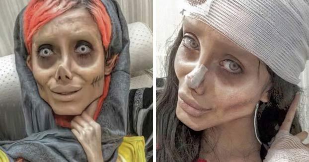 Arrestan a la 'Angelina Jolie iraní' por blasfemia