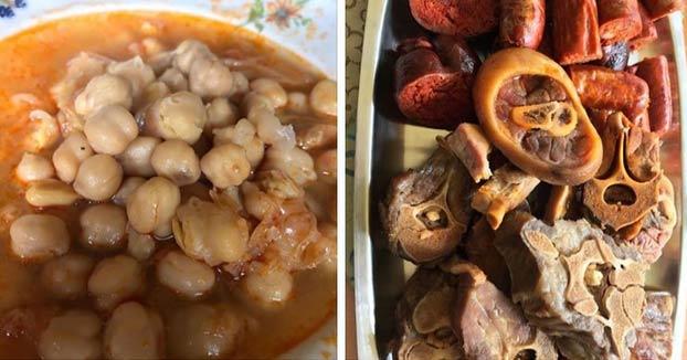 Instagram elimina fotografías de un cocido gallego por ''violencia gráfica''