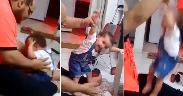 Detienen en Arabia Saudí a un padre tras hacerse viral los golpes que le dio a su hija por no aprender a caminar